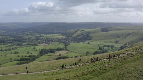 Drone-Shot-Tracking-Walkers-On-Mam-Tor-01