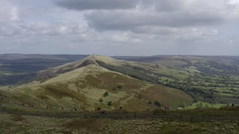 Drone-Shot-Rising-Above-Mam-Tor-02