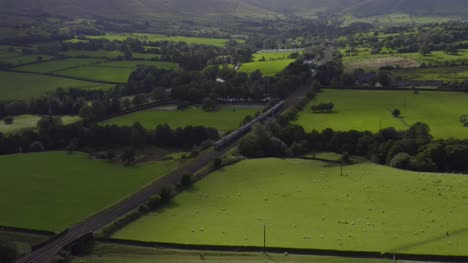 Drone-Shot-Tracking-Train-Travelling-Through-Peak-District-01
