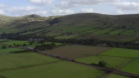 Drone-Shot-Tracking-Train-Travelling-Through-Peak-District-02