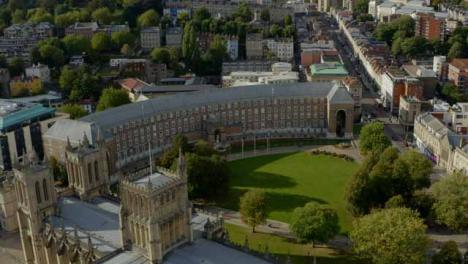 Drone-Shot-Orbiting-Bristol-City-Council-Building-01