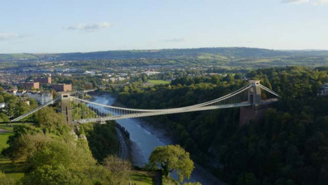 Drone-Shot-Pulling-Away-From-Clifton-Suspension-Bridge-02