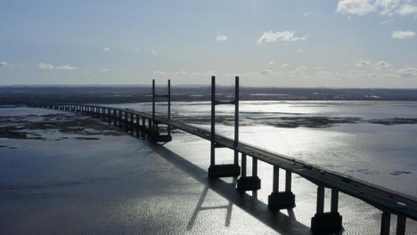 Drone-Shot-Orbiting-The-Prince-Of-Wales-Bridge-03