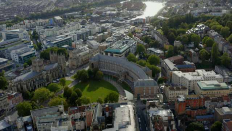 Drone-Shot-Pulling-Away-from-Bristol-City-Council-Building-In-Bristol-Short-Version-2-of-2