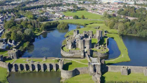 Drone-Shot-Pulling-Away-from-Caerphilly-Castle-Long-Version
