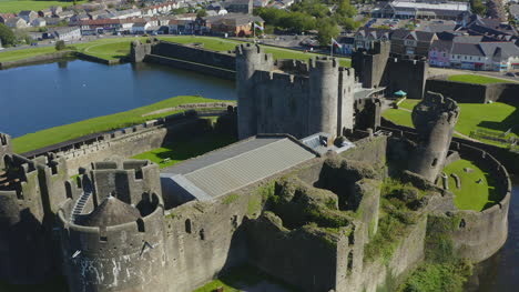 Drone-Shot-Pulling-Away-from-Caerphilly-Castle-03