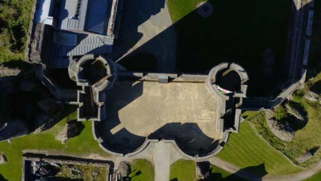 Drone-Shot-Rising-Above-Caerphilly-Castle-