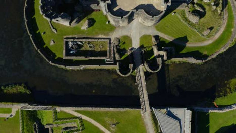 Drone-Shot-Passing-Over-Caerphilly-Castle-01