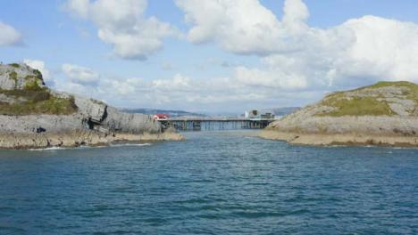 Drone-Shot-Approaching-Mumbles-Pier-In-Swansea-05
