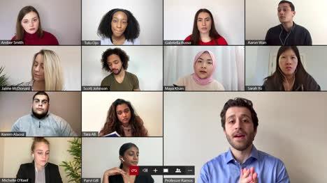 Professor-Teaches-Classroom-Video-Lecture