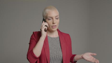 Female-model-talking-on-smartphone-during-studio-portrait-07