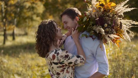Medium-Shot-Of-Loving-Couple-Walking-Together-2