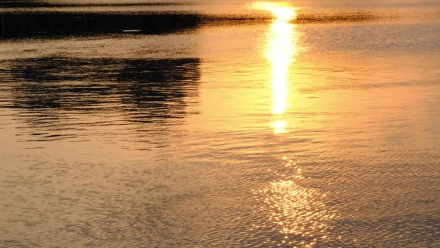 sunset-golden-reflection-of-sunlight-in-water-sunset-over-waves-river
