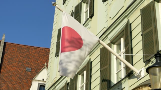 Bandera-de-Japón-en-la-construcción-de
