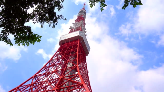 Tokyo-tower-from-Green-lawn