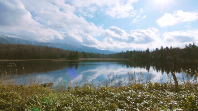Shiretoko-Five-Lakes-Shiretoko-Goko-in-Shiretoko-National-Park-Hokkaido-Japan-Filmed-in-4K