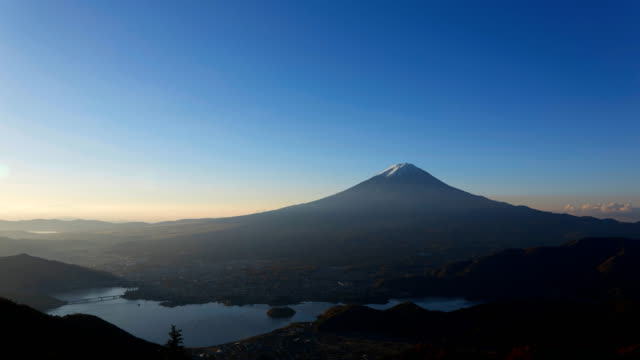 timelapse-of-the-daybreak-with-Mt-Fuji