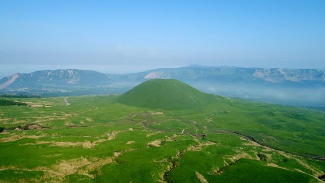 landscape-of-Aso-area-in-Japan