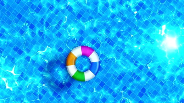 Swimming-pool-top-view-Water-Surface-CG-animation-