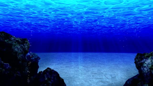 Dive-in-the-Ocean-Undersea-Diving-Loop-Animation-