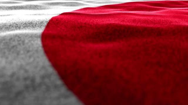 JAPAN-Flag-Textile-Carpet-Background-Animation-Rendering-Loop