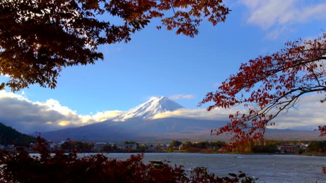 Mount-Fuji-in-Autumn-Color-Japan