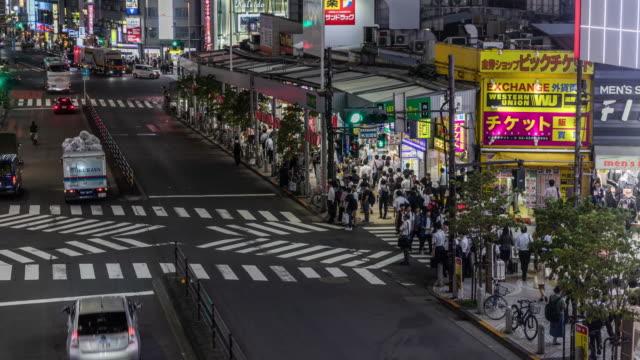 Shinjuku-Tokyo-timelapse