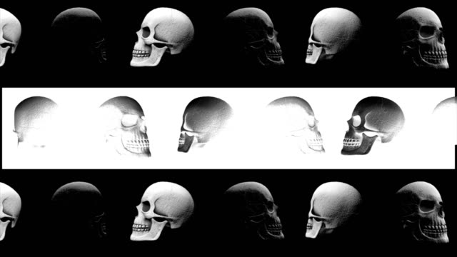 Abstract-Background-Halloween-Rotating-Scary-Skull-Lines-6