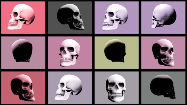 Abstract-Background-Halloween-Scary-Skull-Multi-Video-wall-22