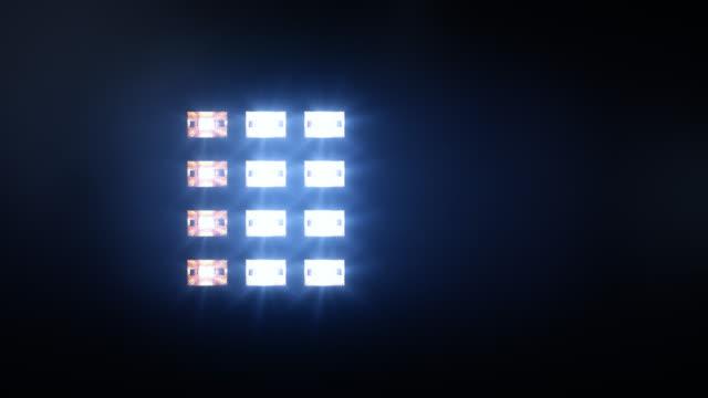 Luces-de-escenario-y-sonido-Square-Azul/ámbar-
