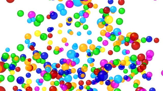 Colorful-bubbles-explosion-Alpha-channel-4K
