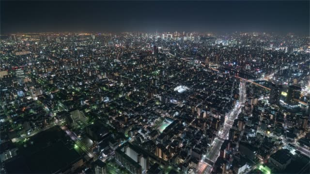 Tokyo-Japan-Timelapse---Shibuya-at-Night-from-the-Sky-Tree-Tower-Wide-Angle