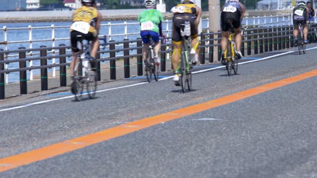 Cycling-race-triathlon-race-in-super-slow-motion