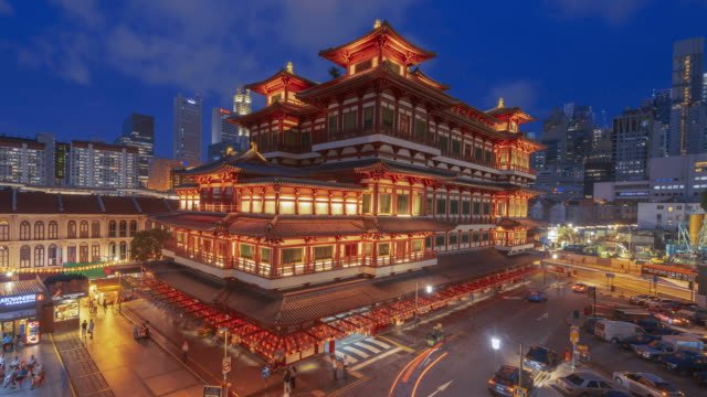 buddha-tooth-relic-temple-night-timelapse-clip-Singapore