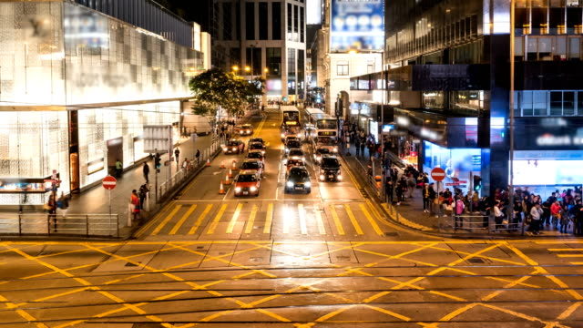 Time-Lapse-Cityscape-at-Hong-Kong-Street-Night-4K-Resolution-