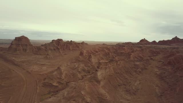 Paisaje-de-relieve-de-Xinjiang-China