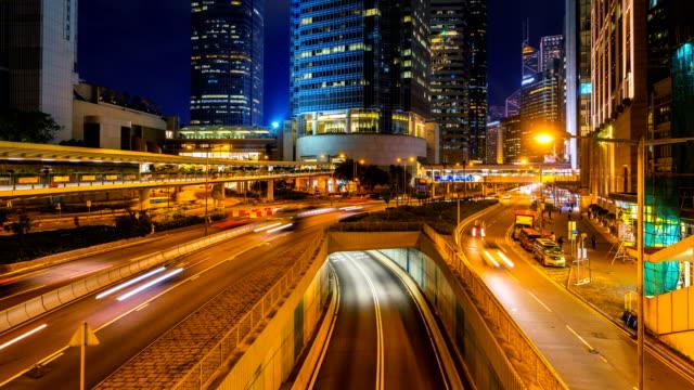 Lapso-de-tiempo-de-intenso-tráfico-en-Hong-Kong-