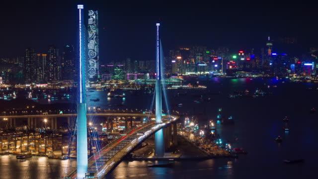 nocturno-de-tráfico-4-tiempo-k-caer-desde-la-ciudad-de-hong-kong