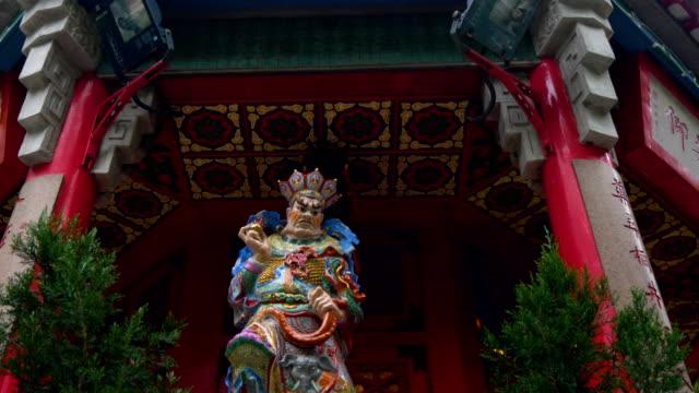 Lenta-de-la-arquitectura-del-templo-antiguo---templo-de-pecado-tai-Won