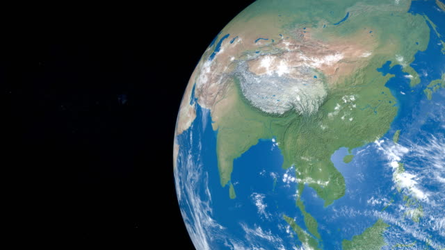 China-area-in-planet-Earth-view-from-outer-space