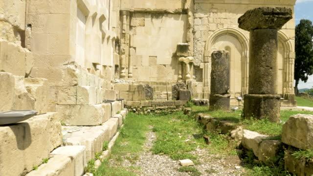 Ancient-wall-of-the-temple-Bagrati---Georgia-Kutaisi