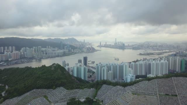 Drohne-Aufnahmen-von-Tseung-Kwan-O-City-Hong-Kong