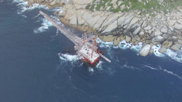 BOS-400-Ship-Wreck-Aerial-Shot