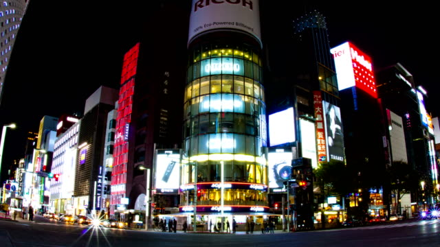 Harumi-st-at-Ginza-Night-lapse-4K-slow-shutter-zoom-in