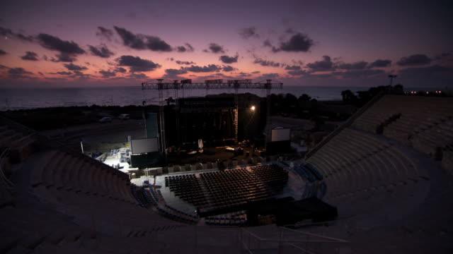 Ceaserea-amphitheatre-sunset-stage
