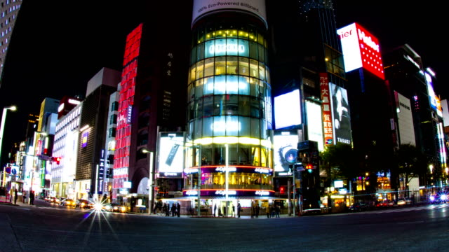 Harumi-st-at-Ginza-Night-lapse-4K-slow-shutter-wide-shot-zoom-in
