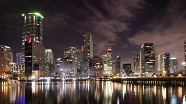 Night-time-lapse-of-the-skyline-of-Miami-Florida