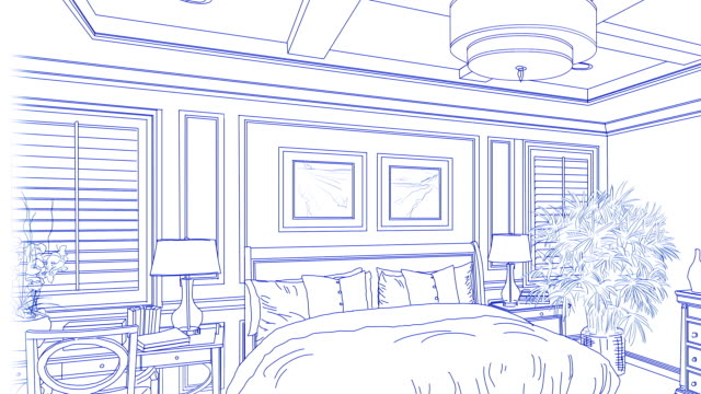 Transition-Of-Custom-Master-Bedroom-From-Drawing-to-Completion-