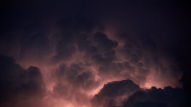 This-panoramic-image-was-taken-while-storm-Thunderstorm-Clouds-with-Lightning