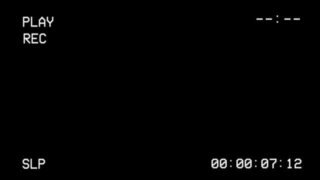 VCR-VHS-Screen-Interface